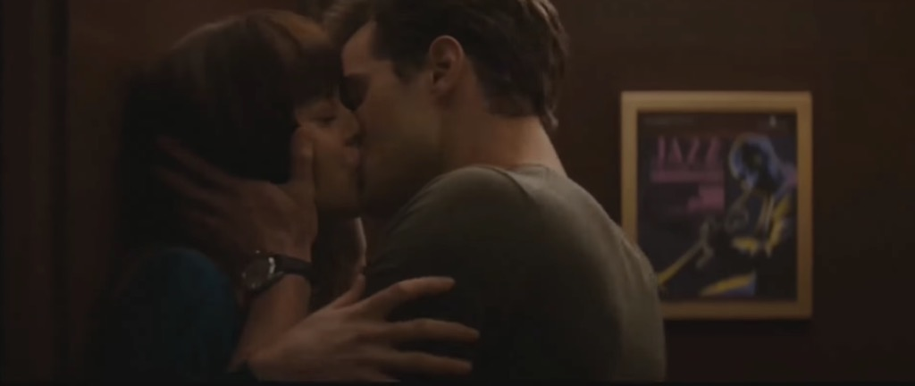 fifty shades kiss