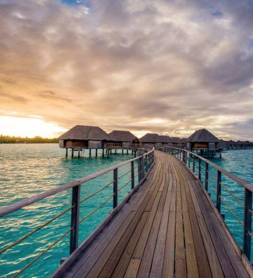 Four Seasons Resort Bora Bora Floating Hotels