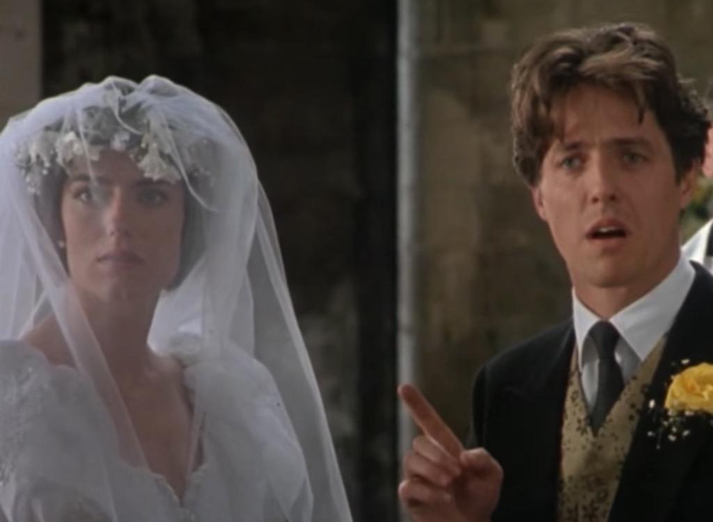 four weddings wedding scene