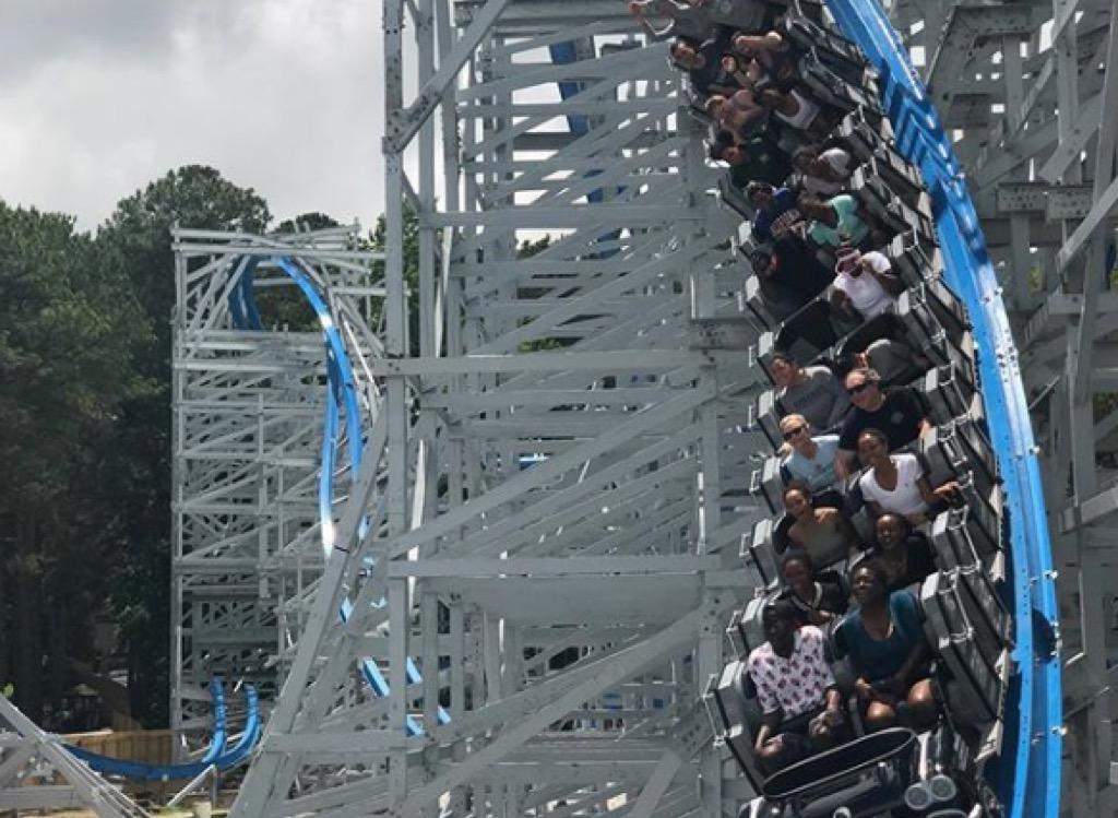 georgia craziest amusement park rides