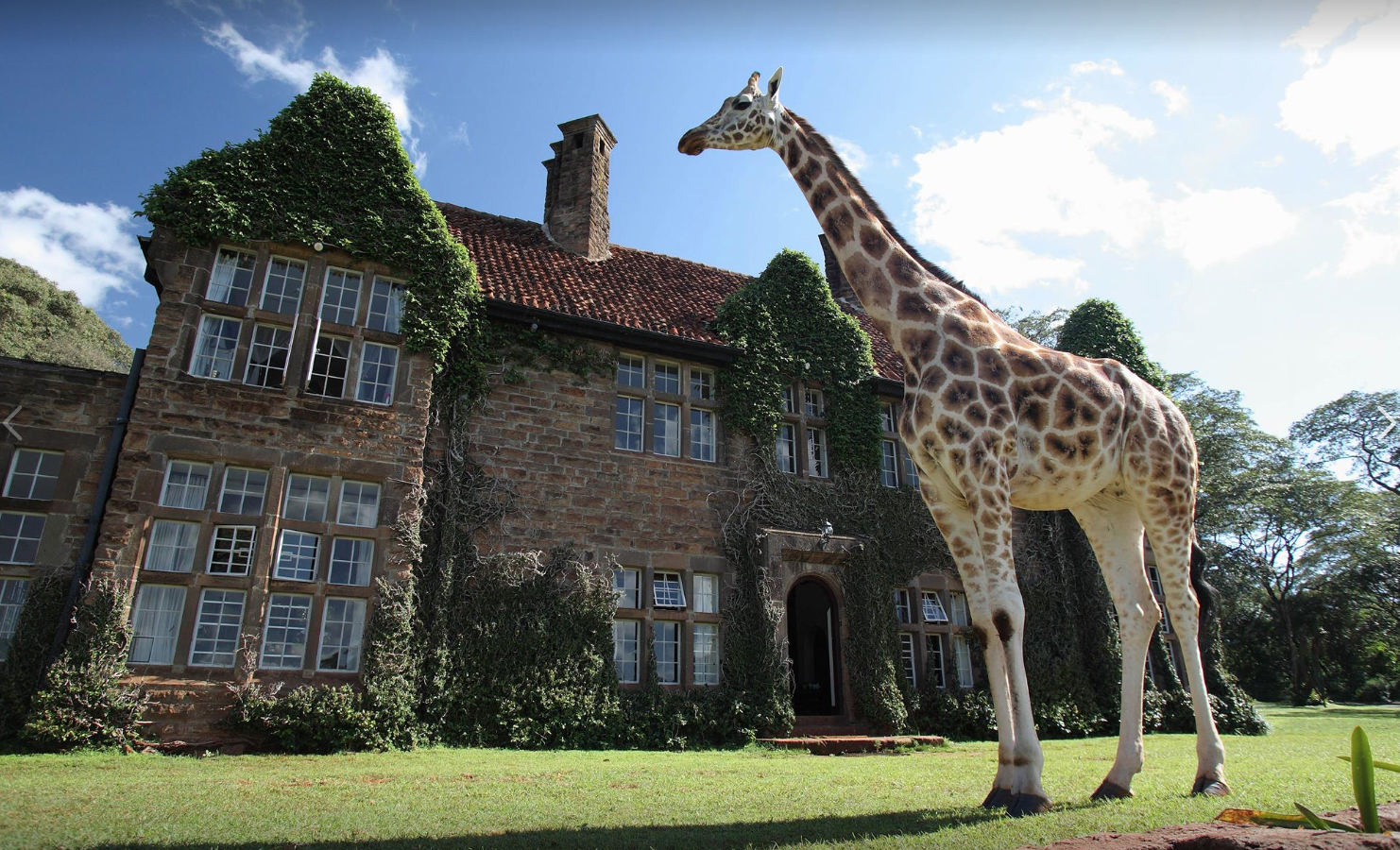 Giraffe Manor Hotel Kenya Outrageous Hotels