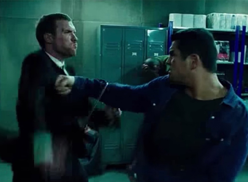 transporter group fight movie cliches