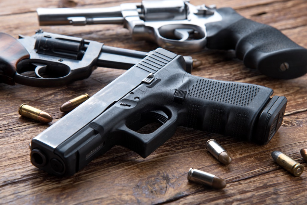 Gun and bullets, bad parenting