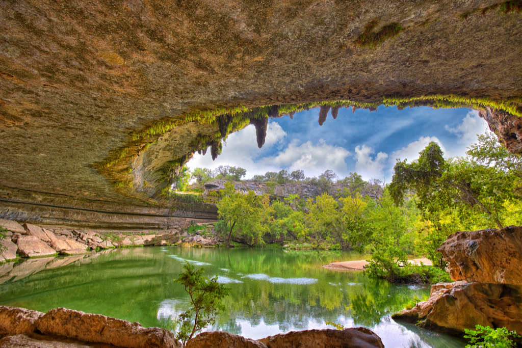 Hamilton Pool Texas natural wonders in america