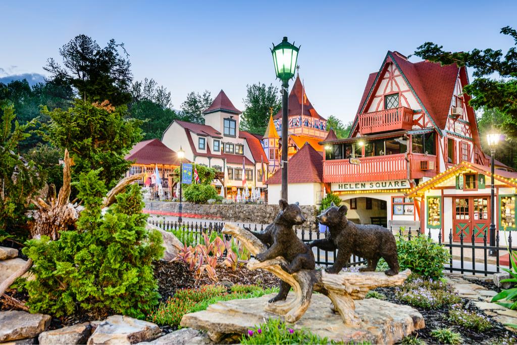 Helen, Georgia European-Inspired Small Towns in America