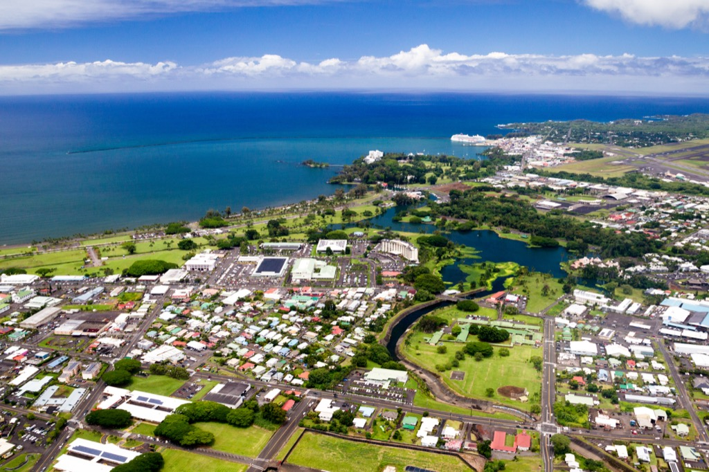 hilo hawaii humid places most humid cities in the U.S.