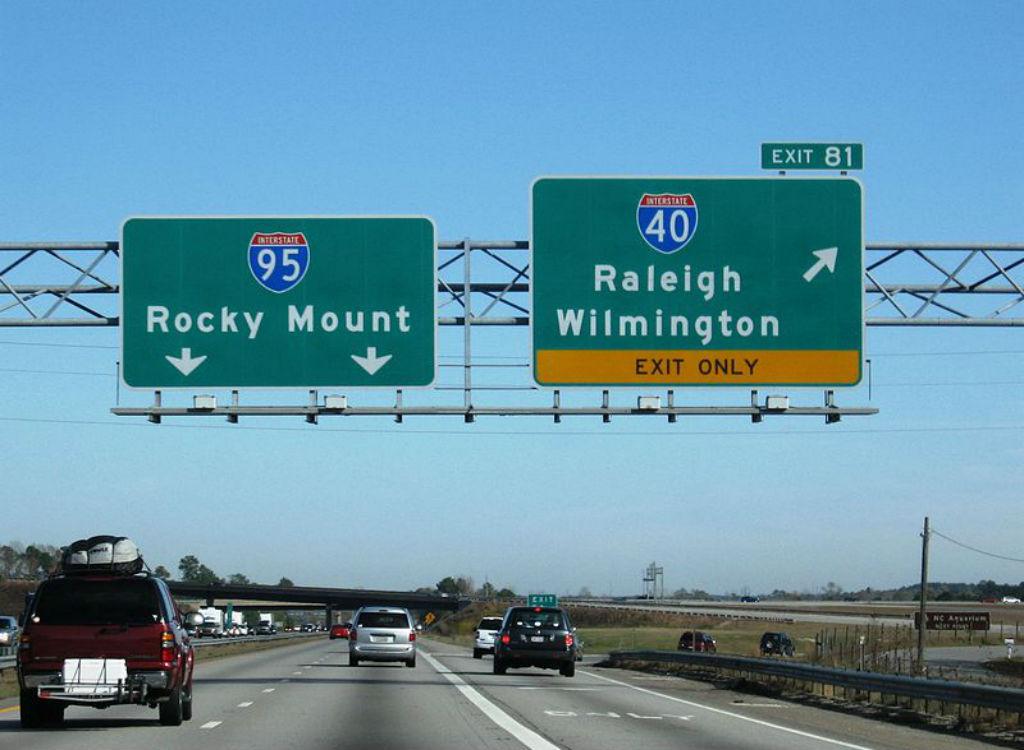 Interstate 95 dangerous highways