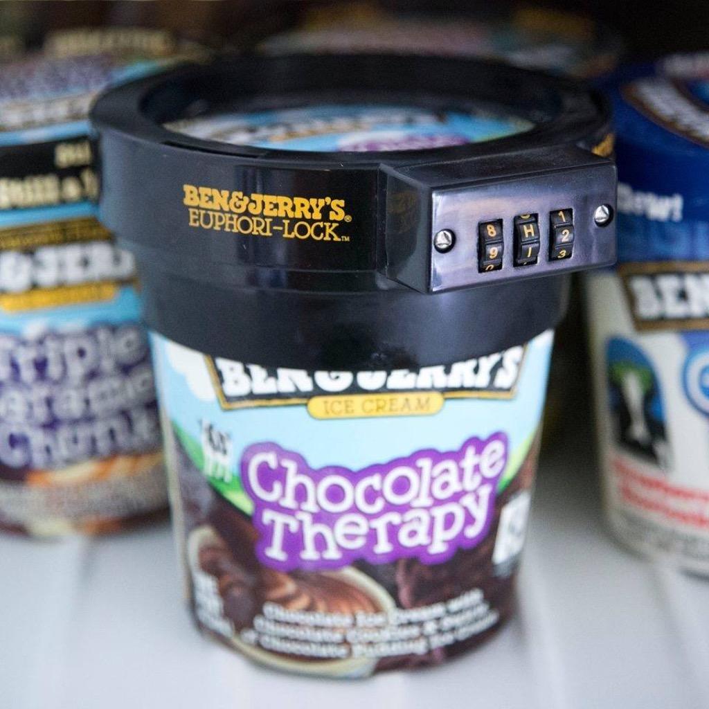 Ben Jerry's Ice Cream Lock