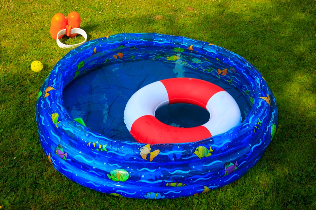 inflatable pool summer