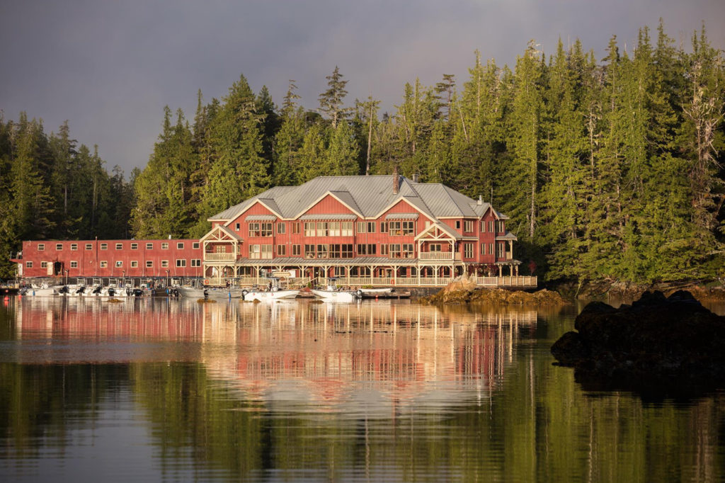 King Pacific Lodge Canada Floating Hotels