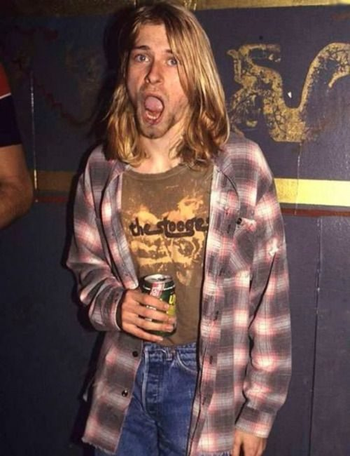 Kurt Cobain flannel clothing items that changed culture