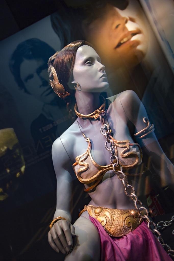Princess Leia gold bikini