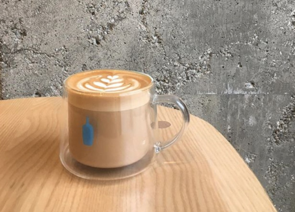 los angeles ca most caffeinated cities