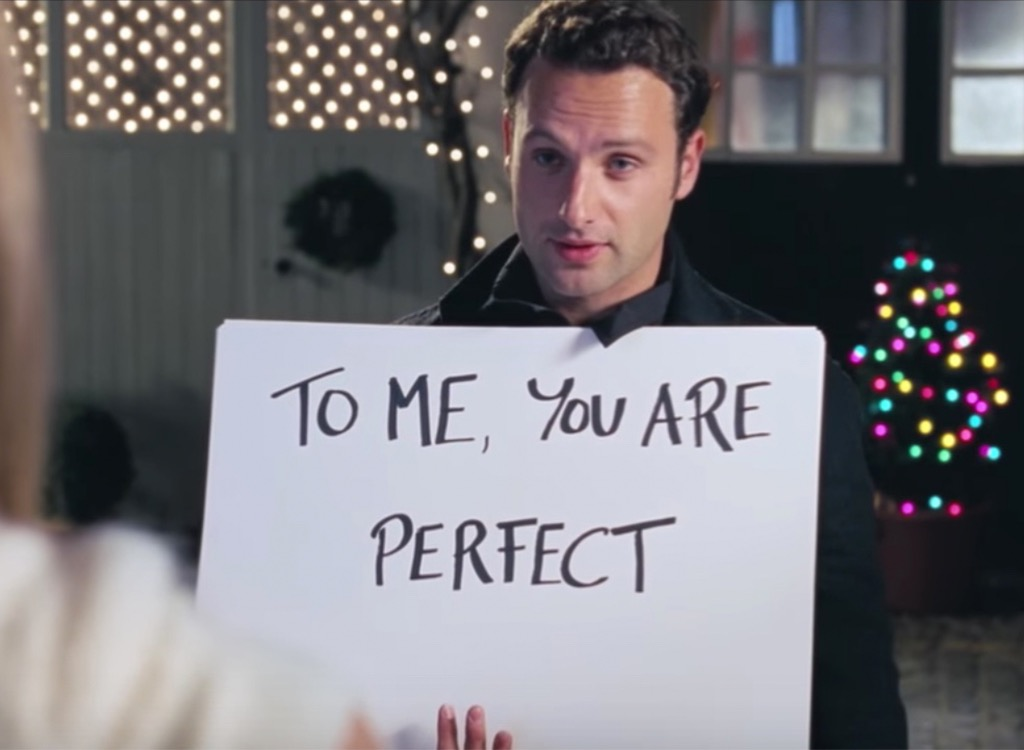 love actually to me you are perfect