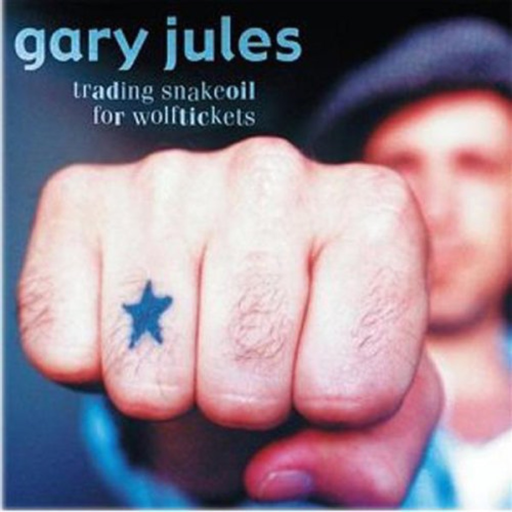 """Gary Jules """"Trading Snakeoil for Wolftickets"""" Cover"""