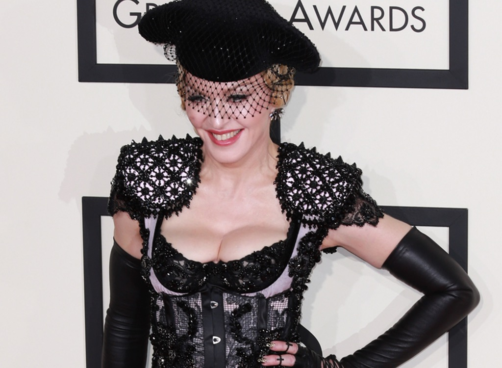 Madonna red carpet style fails