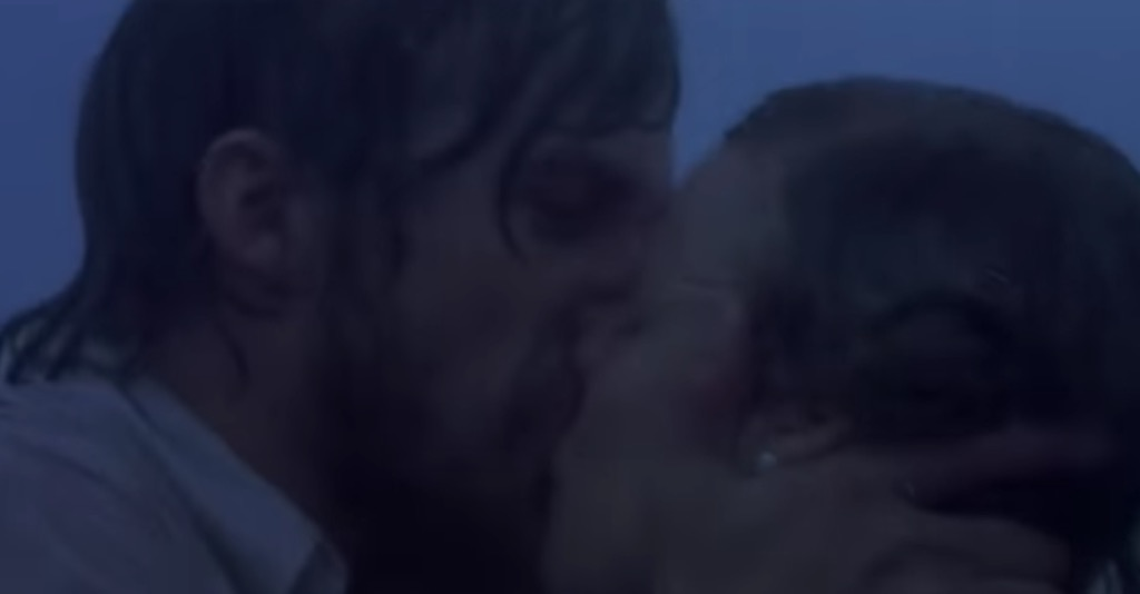 kissing in the rain movie cliches