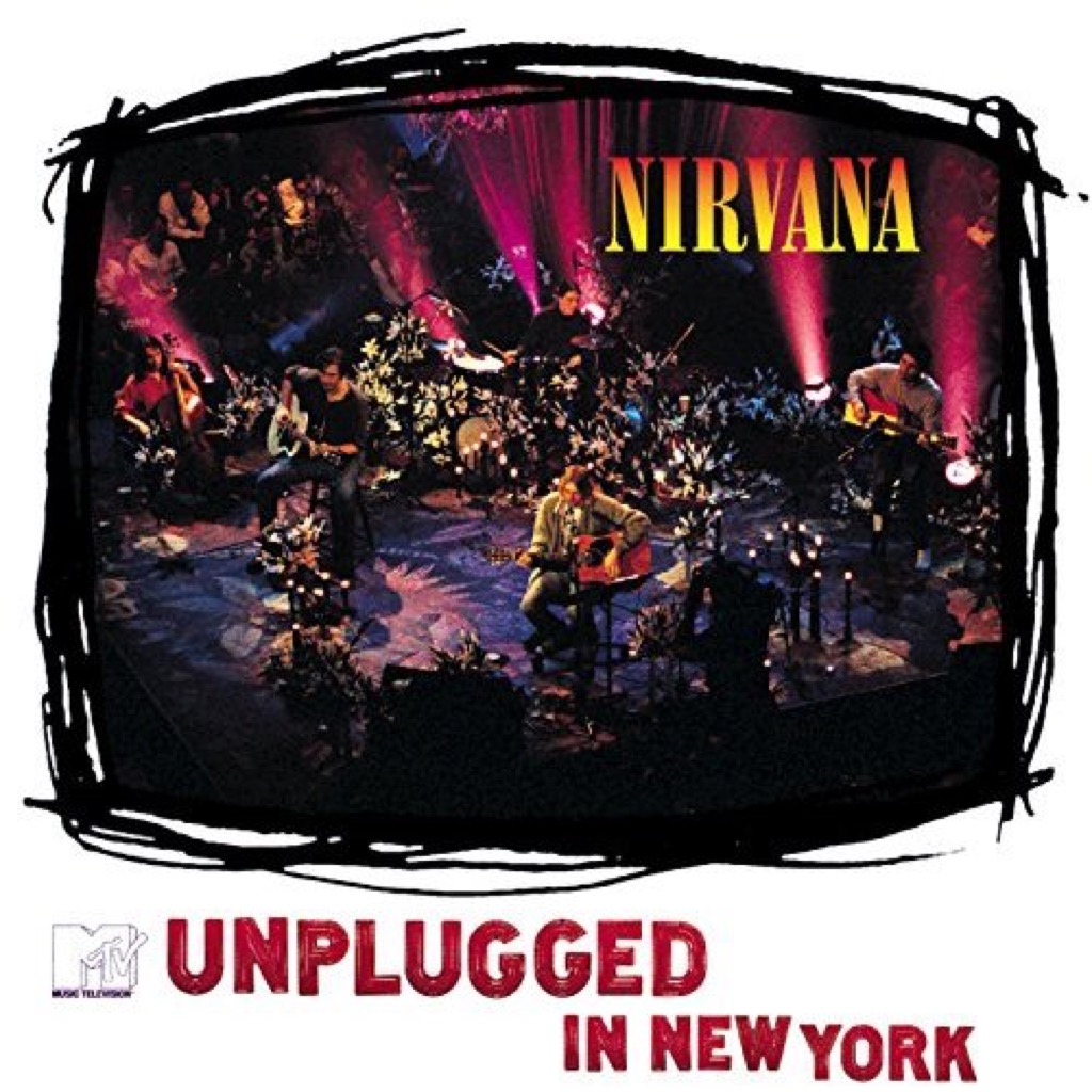 """Nirvana """"MTV Unplugged in New York"""" Cover"""
