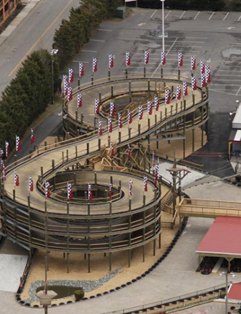 maryland craziest amusement park rides