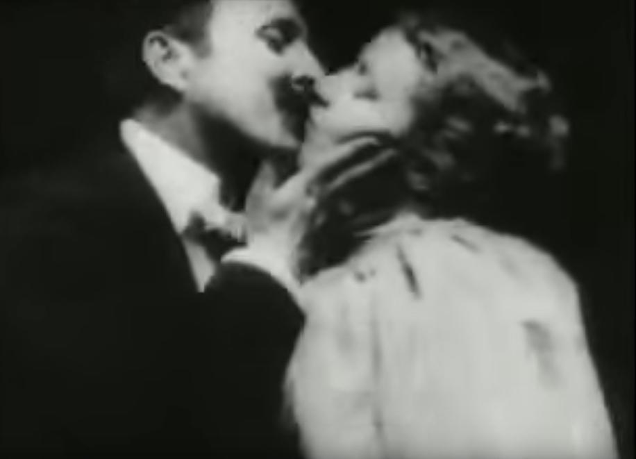 May Irwin Kiss by Thomas Edison