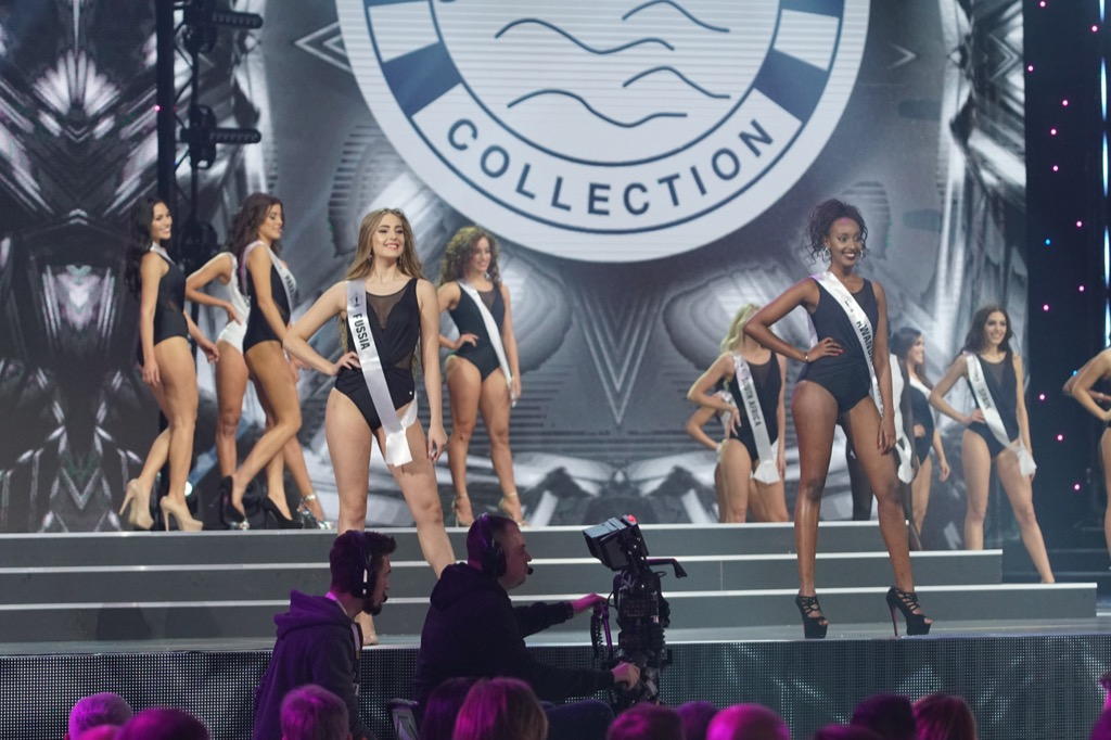 Miss World pageant swimsuits