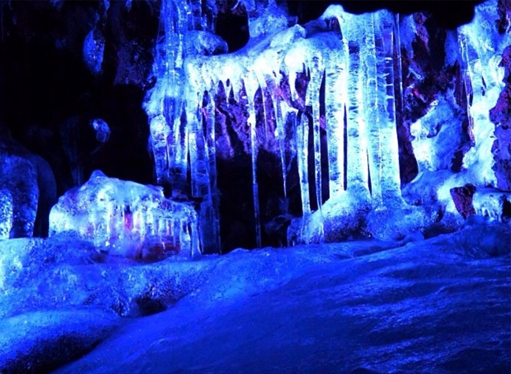 Aokigahara Japan suicide forest ice cave