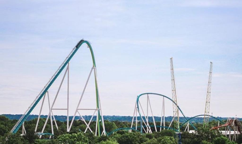 north carolina craziest amusement park rides