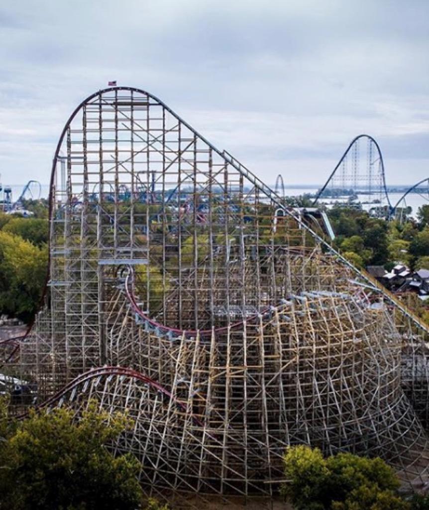 ohio craziest amusement park rides