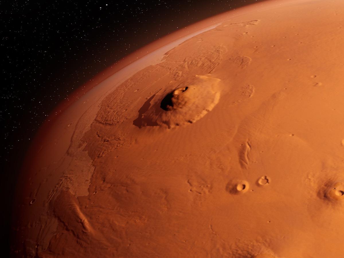 olympus mons mars, facts