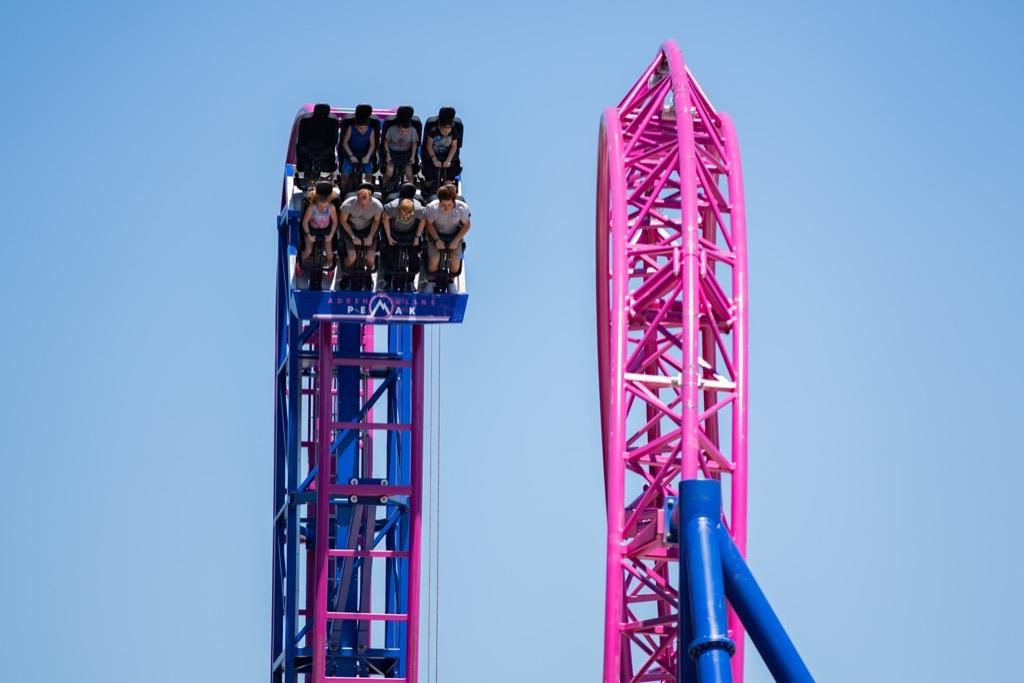 oregon craziest amusement park rides