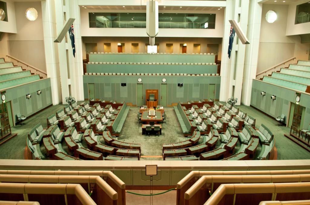 australian parliament room