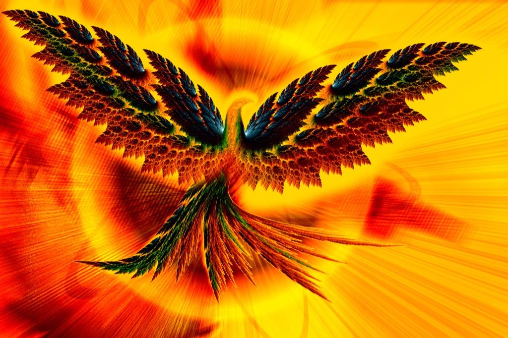 Greece Phoenix bird national animal