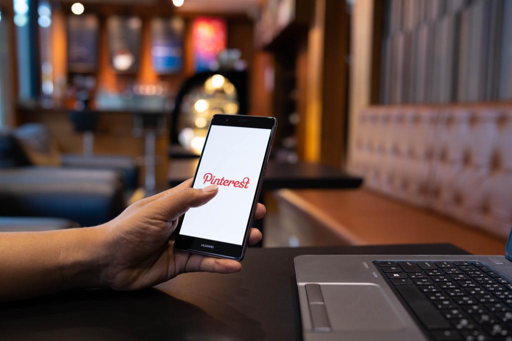 Pinterest on Phone Social Media