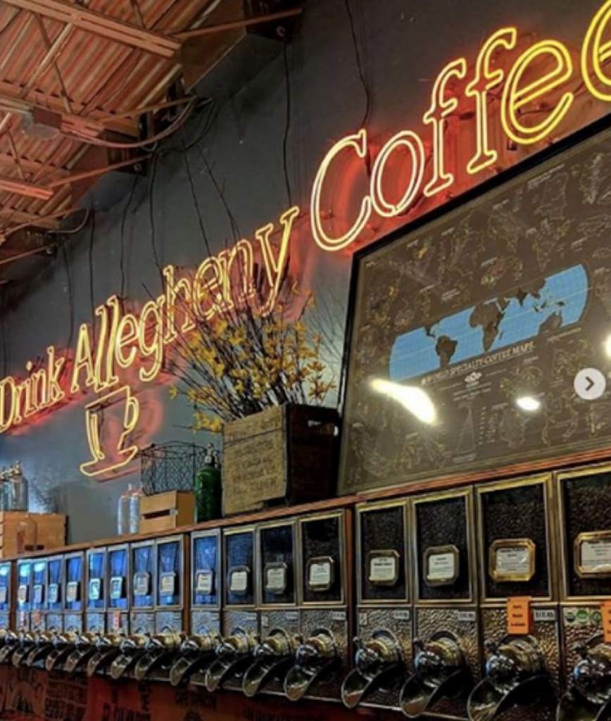 pittsburgh pa most caffeinated cities