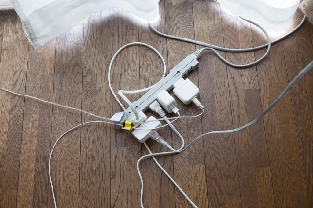 power strip, plugs, energy