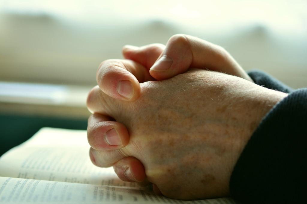 Hands in prayer, Pixabay