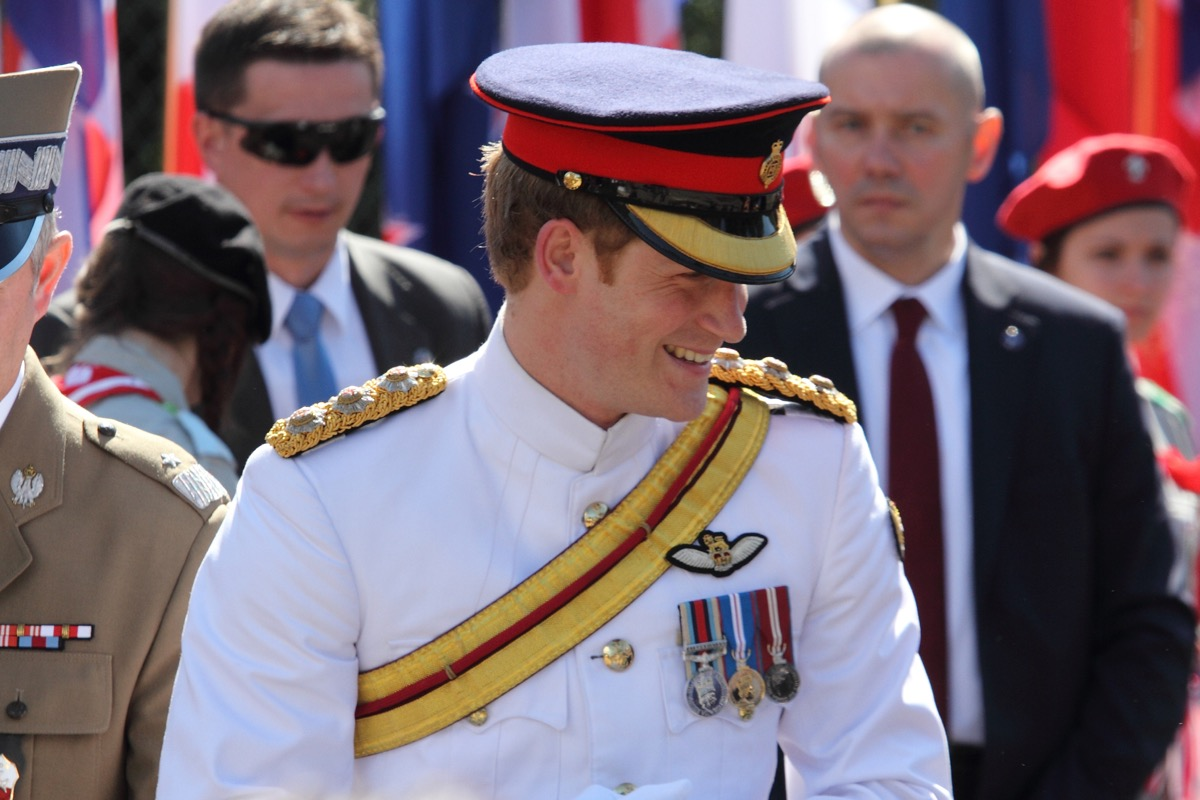 prince harry in uniform, prince harry father