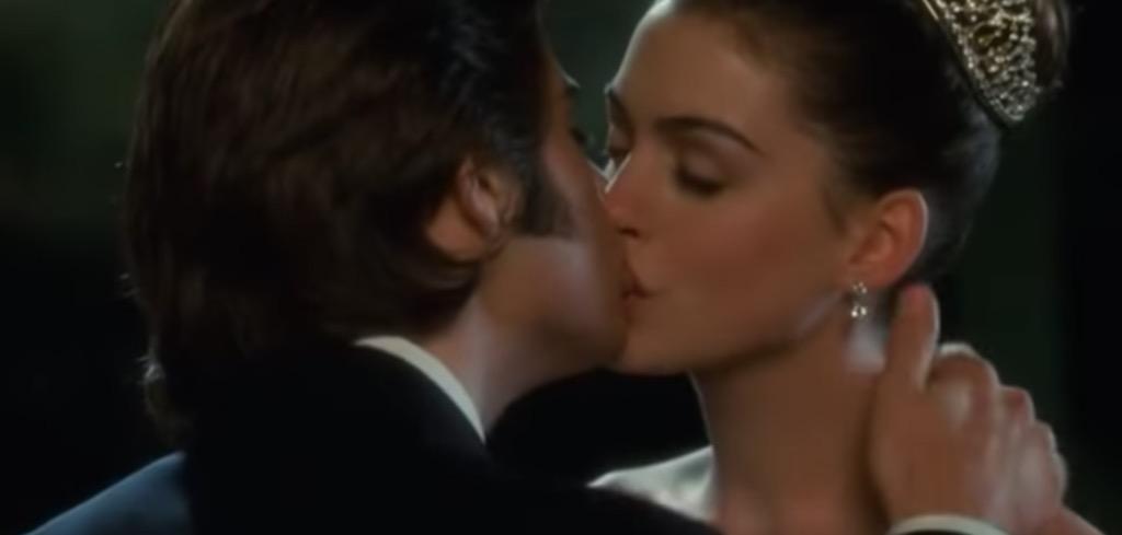 princess diaries kiss