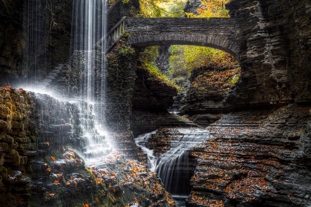 Rainbow Bridge and Falls New York Magical Destinations
