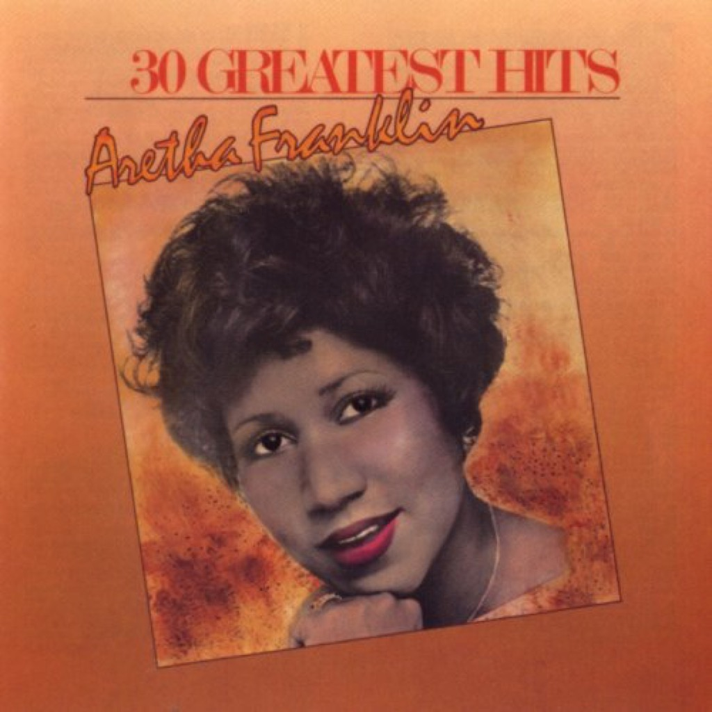 """Aretha Franklin """"30 Greatest Hits"""" Cover"""