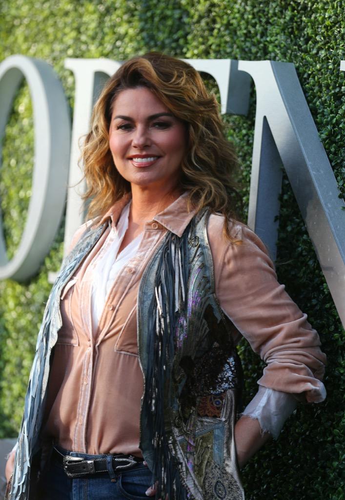 Shania Twain Celebrities Who Won't Live in U.S.