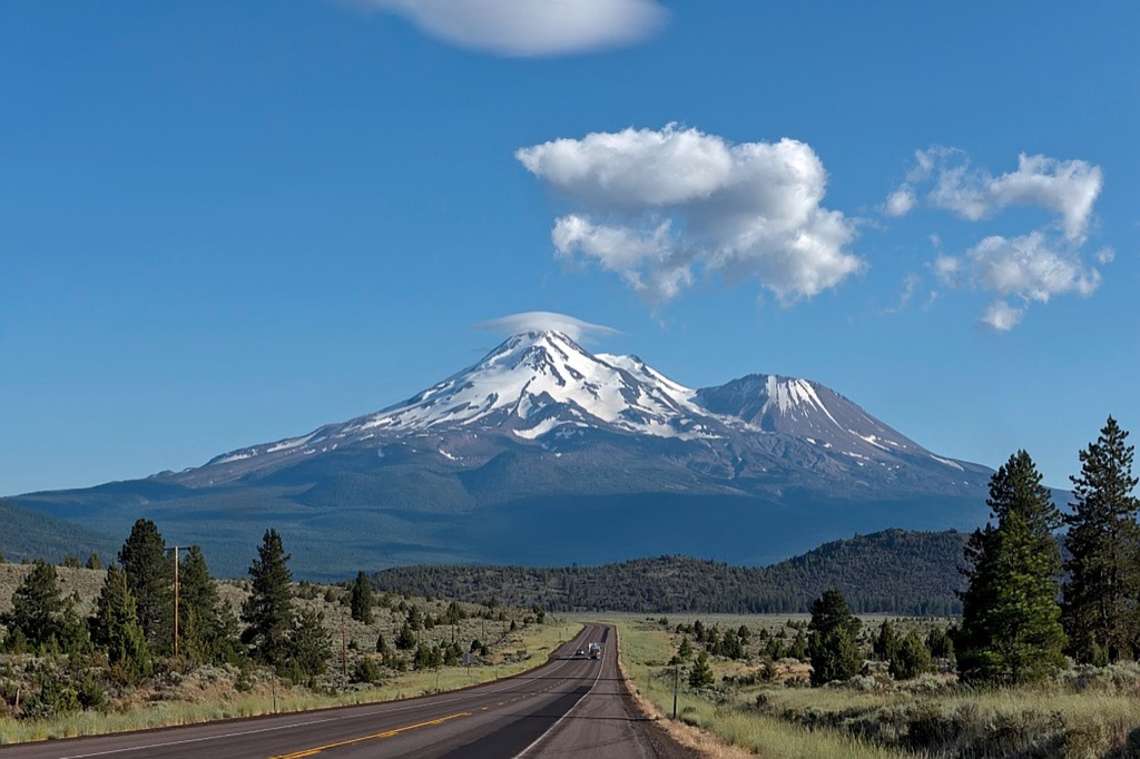 Mount Shasta mountain California