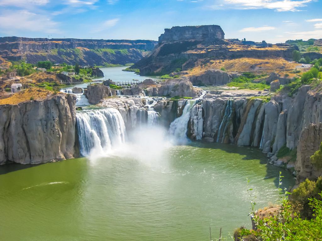 Shoshone Falls Idaho state natural wonders