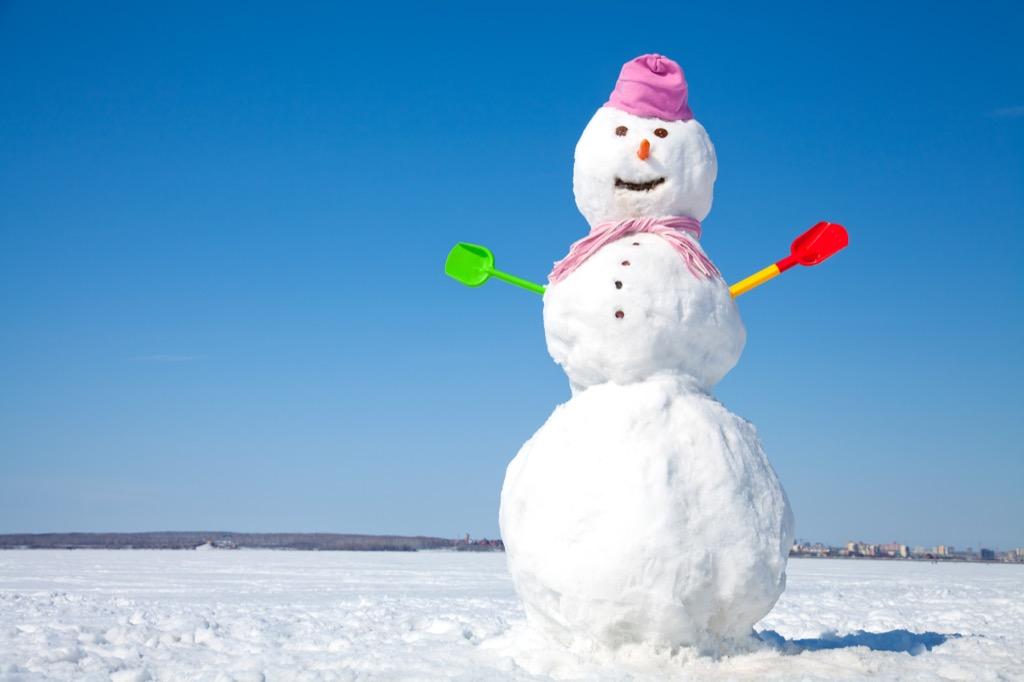 snowman corny jokes