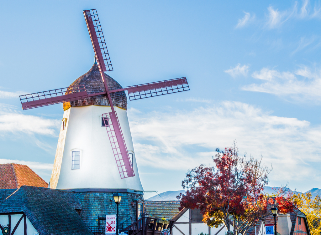 Solvang, California European-Inspired Small Towns in America