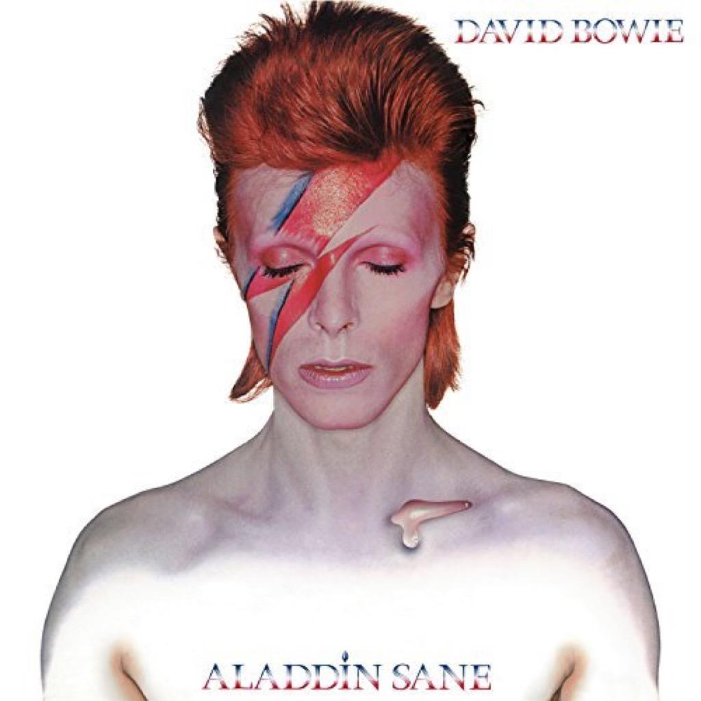 "David Bowie ""Aladdin Sane"" Cover"
