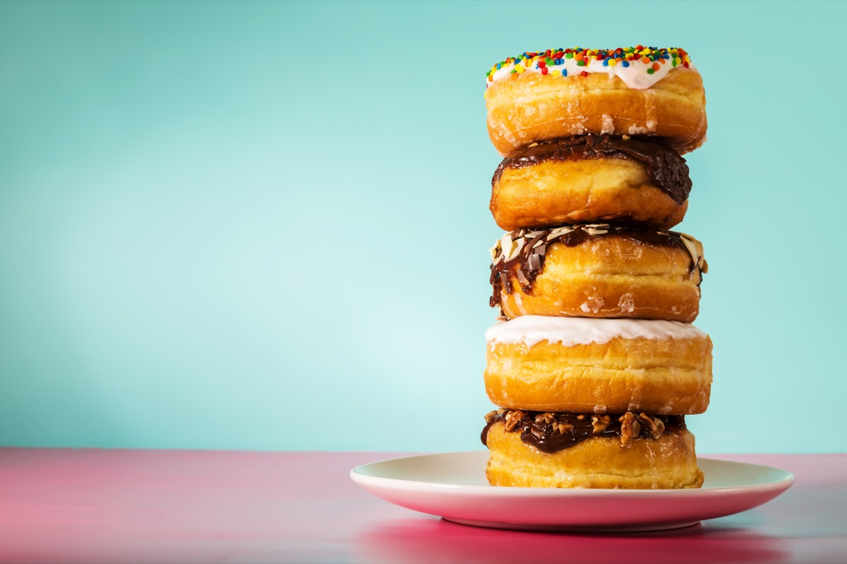 stack of doughnuts, astonishing facts