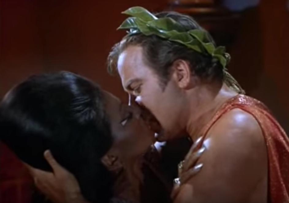 Star Trek First Interracial Kiss on Television