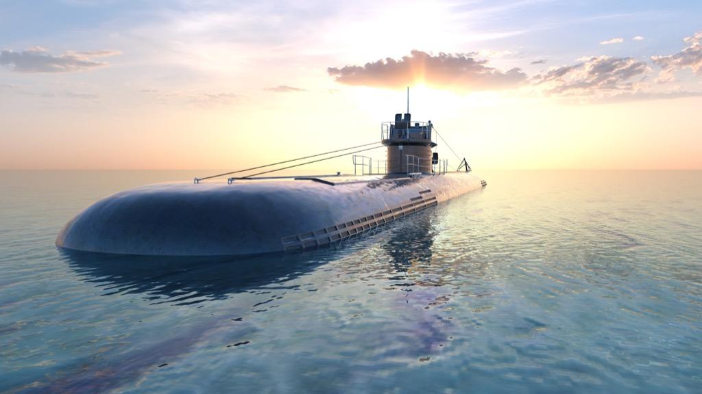submarine - historical facts