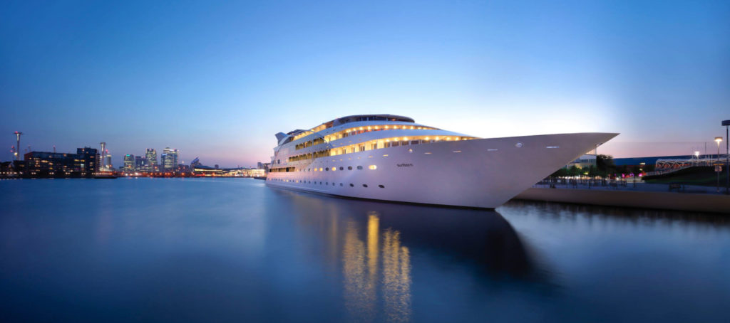 Sunborn London Yacht Hotel Floating Hotels